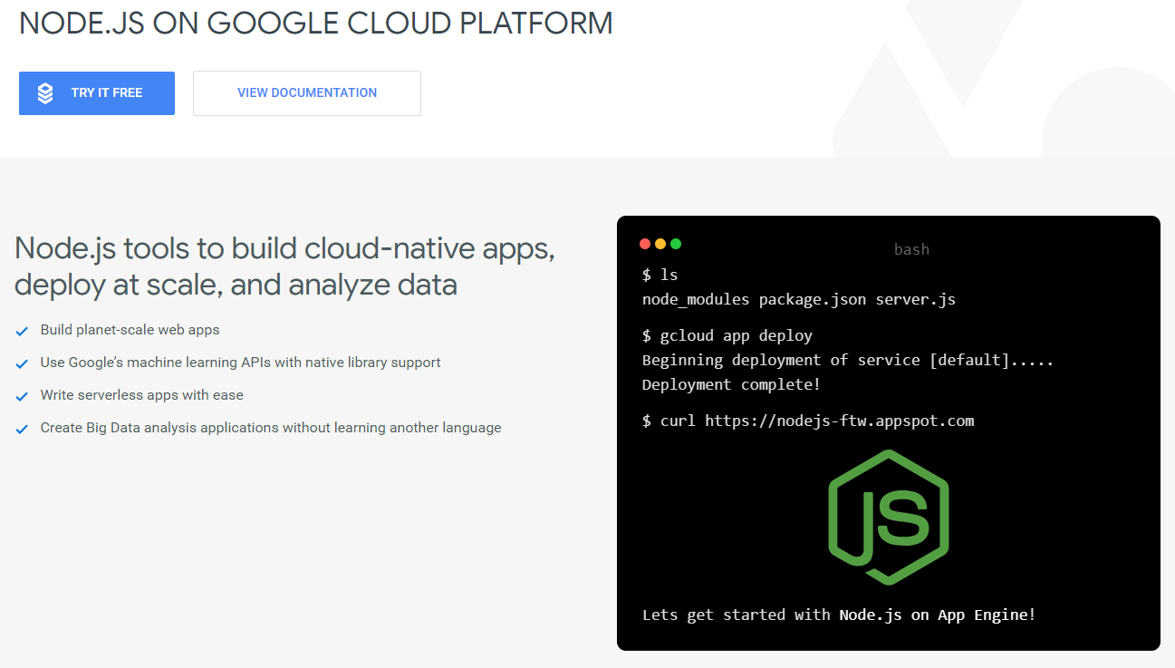 How to deploy Node js app on Google App Engine - TutsWiki Beta